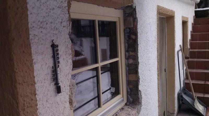 Einsetzen neues Fenster