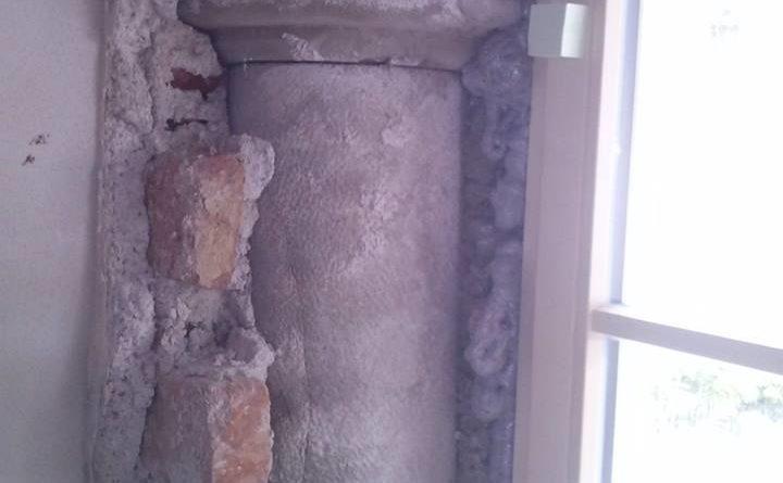 passgenauer Durchbruch für neues Fenster